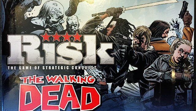 Un jeu de société Risk pour les fans de The Walking Dead