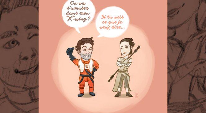 Des cartes Saint-Valentin pour les fans de Star Wars