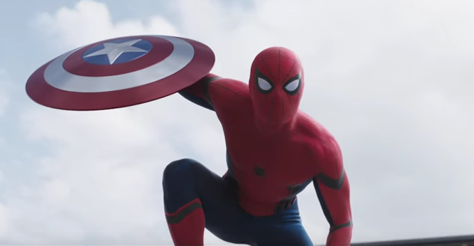 Captain America « Civil War » : la bande annonce avec Spider-Man