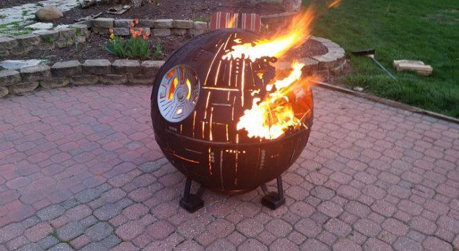Star Wars : Il invente un étonnant barbecue Étoile de la mort