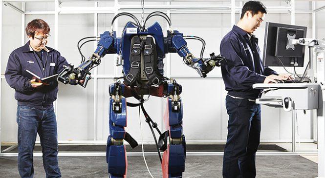 Cet exosquelette crée par Hyundai vous transforme en demi-dieu