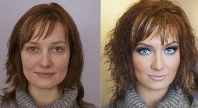 10 jeunes femmes avec et sans maquillage. La troisième est hallucinante !