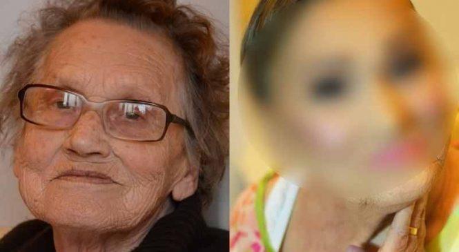 Cette mamie de 80 ans laisse sa petite-fille la maquiller. Le résultat va vous choquer !