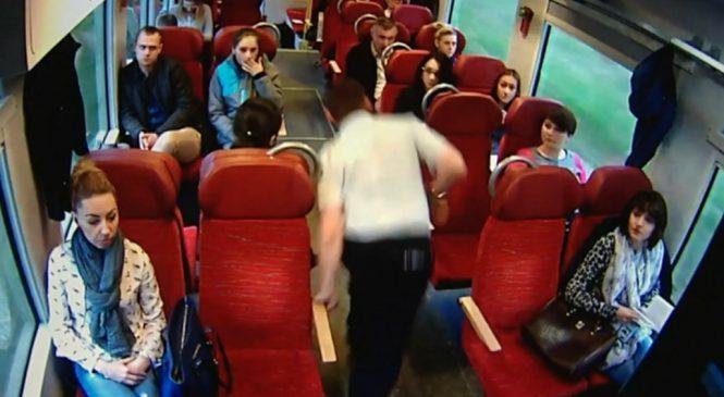 Un conducteur de train prévient les passagers qu'il va y avoir un accident à 110km/h (Pologne)