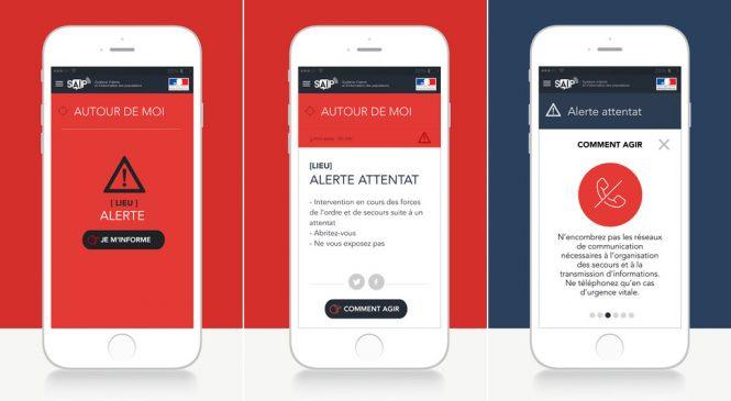 Une application iPhone et Android pour vous alerter si il y a un attentat