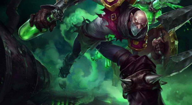 Singed est le plus gros troll de League of Legends sur la top lane