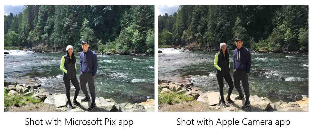 La différence est clairement visible sur ces deux photos