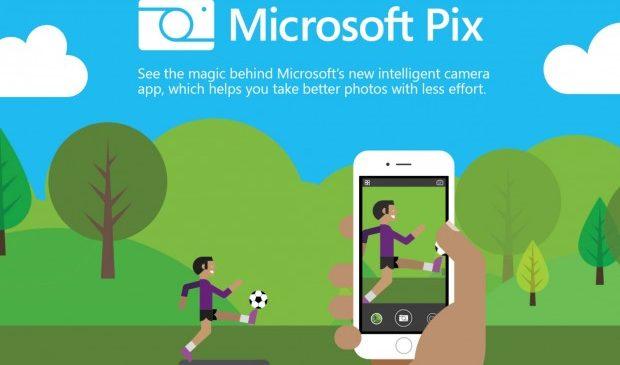 Microsoft Pix : Une application iOS pour améliorer vos photos