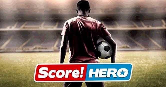 Score Hero : Le meilleur jeu de foot tactile et gratuit sur iPhone & iPad