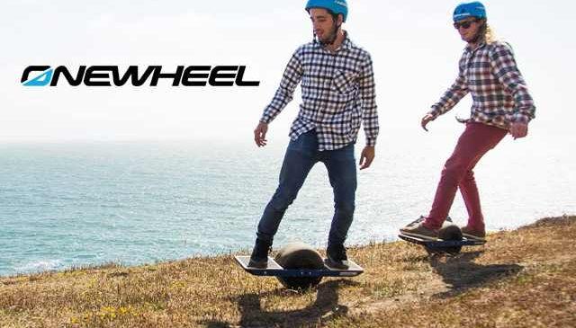 OneWheel: Un skate électrique impressionnant et tout terrain