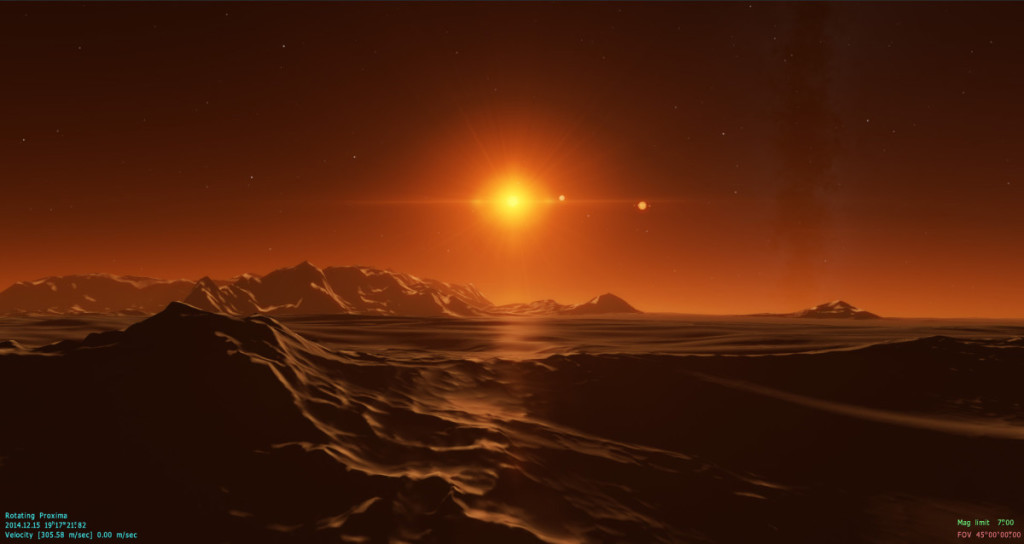 characterising the atmosphere of proxima b The proxima b planet probably wouldn't be able to maintain an earth-like atmosphere, and that means life as we know it would be impossible.