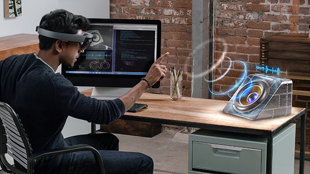 Réalité holographique : Voici ce que vous allez pouvoir faire grâce à Microsoft !