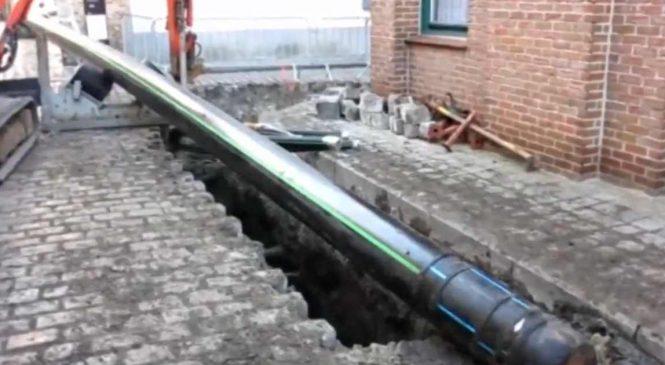 Un pipeline à bière vient d'être inauguré en Belgique