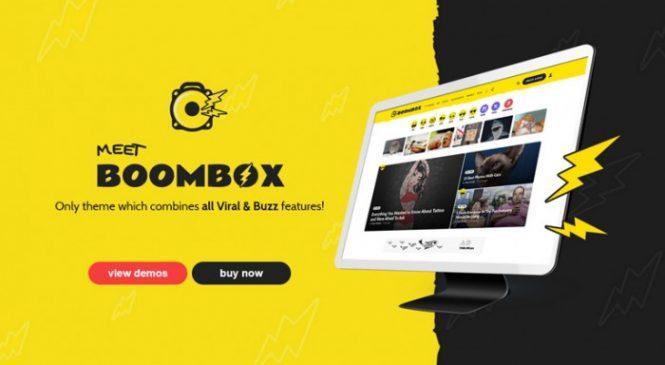 Un magnifique thème WordPress pour créer un site de buzz viral comme Buzzfeed et BoredPanda