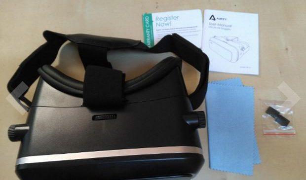 Aukey : Un casque de réalité virtuelle 3D pour votre smartphone