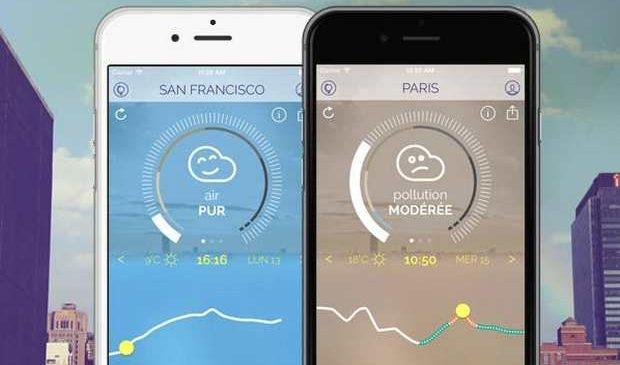Pollution : Une application pour connaître la qualité de l'air que vous respirez