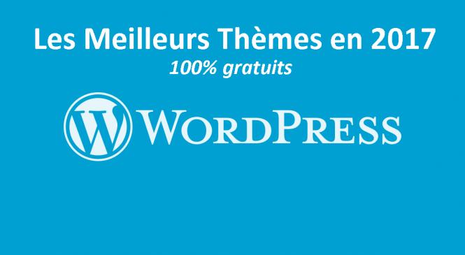 40+ Meilleurs Thèmes WordPress Responsive et Gratuits en 2017