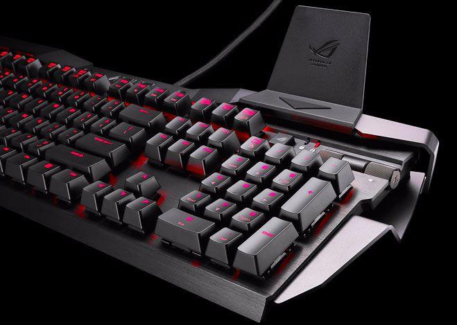 Image d'un clavier mécanique
