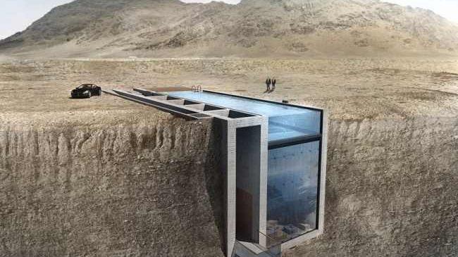 La vue de cette maison vous donnera la chair de poule