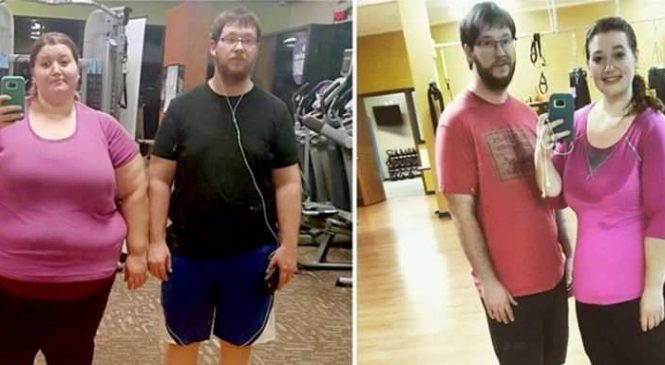 Ce couple a perdu plus de 130 kilos en faisant seulement trois petites choses