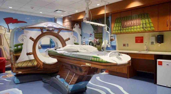 Cet hôpital a complètement transformé son scanner afin de rassurer les enfants