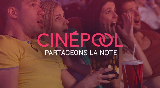 CinéPool : Une application pour payer moins chères vos places de cinéma