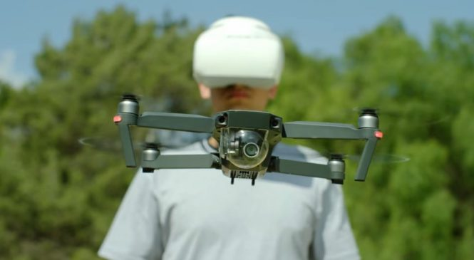 DJI Goggles : Ce Casque FPV vous permet de piloter un drone