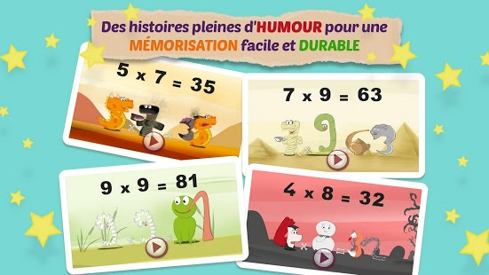 Mathemagics : Les enfants apprennent les tables de multiplication en s'amusant