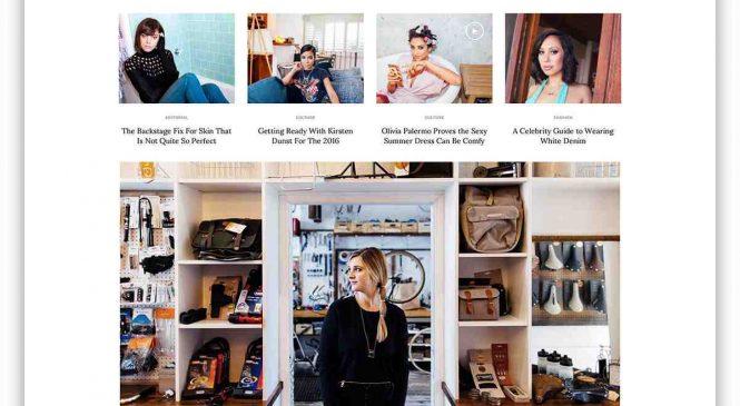 De très beaux thèmes WordPress pour un blog mode ou lifestyle