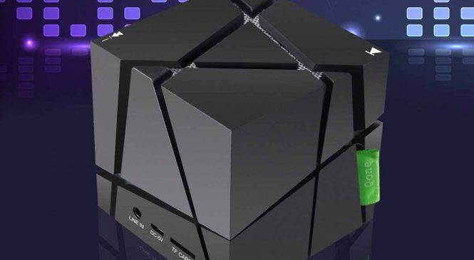 Elegiant : Une enceinte bluetooth étonnante en forme de mini cube