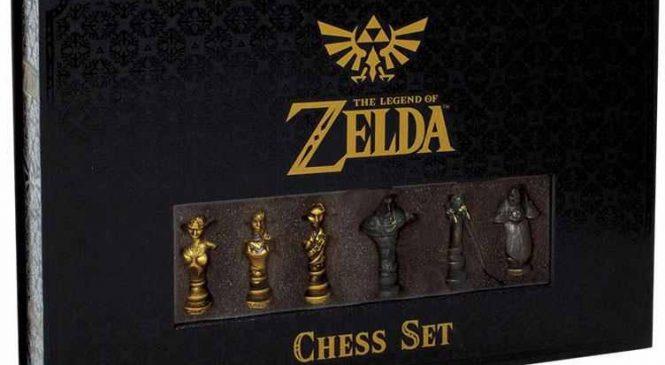 Zelda : Un magnifique jeu d'échec que vous allez adorer