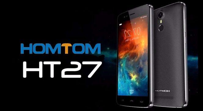 HOMTOM HT27 : Un smartphone à moins de 70 euros, ça existe !