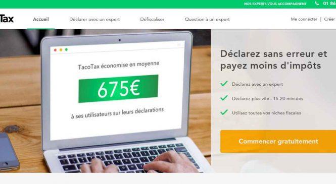 Tacotax vous aide à déclarer vos impôts et économiser de l'argent