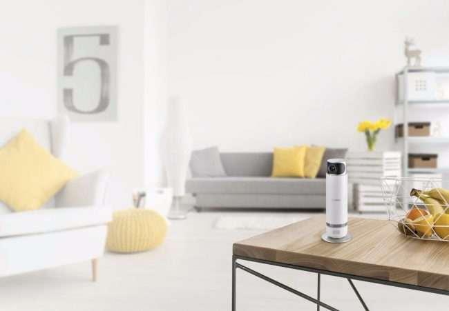 bosch smart home test de la cam ra de s curit int rieure 360. Black Bedroom Furniture Sets. Home Design Ideas