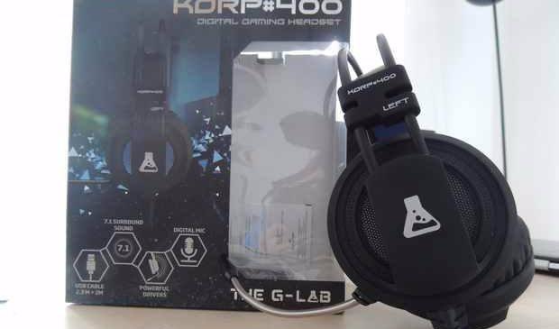 KORP 400 : Un casque PC/PS4 abordable pour les gamers