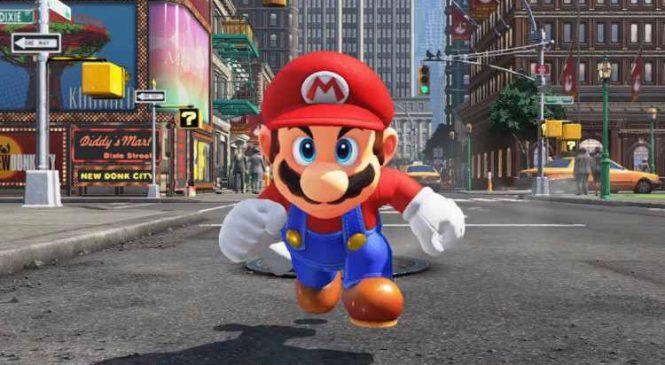 Super Mario Odyssey : Le jeu débarque sur la Switch et il est surprenant