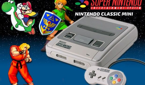 Le grand retour de la Super Nintendo dans une version Mini