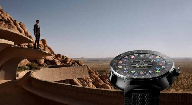 Tambour Horizon : Une montre connectée Louis Vuitton à 2300 euros