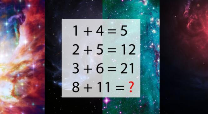 Seulement 1 personne sur 1000 est capable de résoudre cette équation. Ce test d'intelligence fait fureur sur le web !