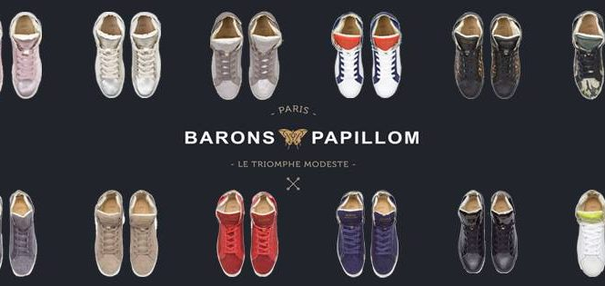 Barons Papillom – Des sneakers made in France