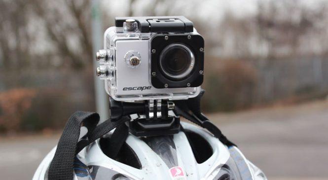 Test de la Escape HD5, une caméra style GoPro à moins de 100 euros