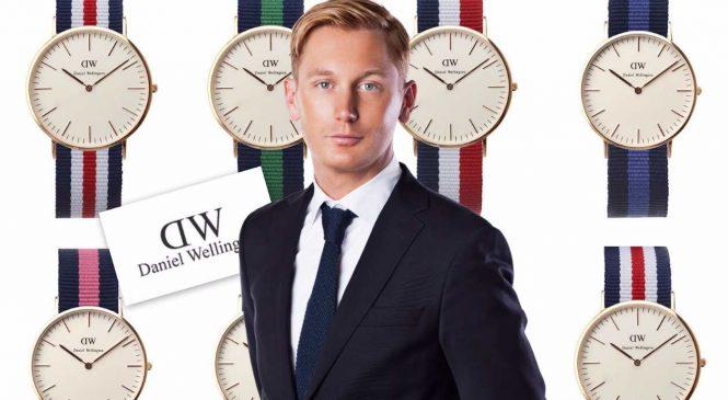 Daniel Wellington : La montre bleu blanc rouge et ultra-fine