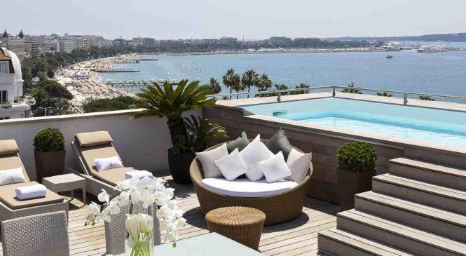 Top 3 des plus belles chambres d'hôtels avec piscine privée en France