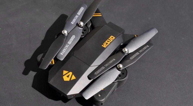 VISUO XS809W : Un drone parfait pour débuter à moins de 35 euros