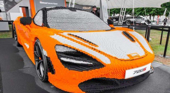 LEGO : Ils assemblent une McLaren 720S avec plus de 200 000 briques