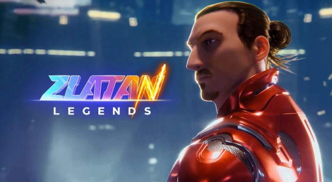 Zlatan Legends : Ibrahimovic dans un Jeu d'action (Android et iPhone)