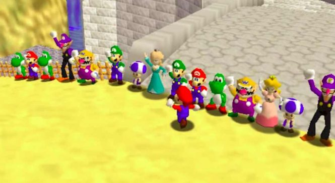 Multijoueur : Vous pouvez jouer à Super Mario 64 avec vos amis