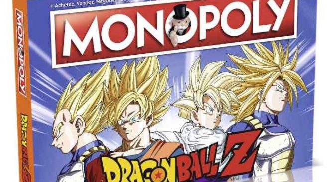 Le Monopoly Dragon Ball Z est disponible en France