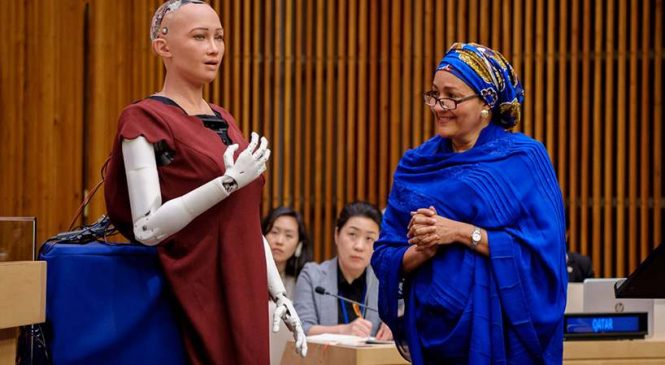 L'Arabie saoudite est le premier pays de l'histoire à accorder la citoyenneté à un robot