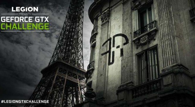 GTX Challenge Nvidia X Lenovo : A suivre sur Twitch avec Zerator et MisterMV